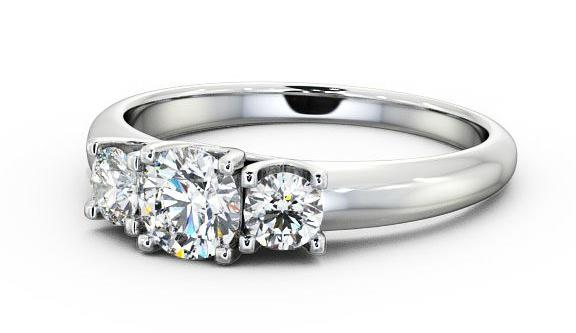 Engagement rings for slender fingers