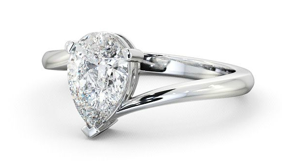 Engagement rings for wide fingers
