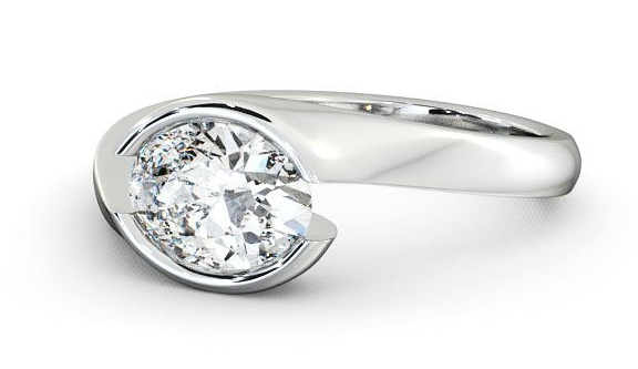 Engagement rings for larger hands