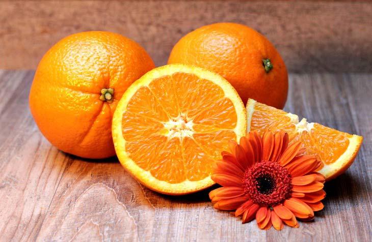 Citrus centrepiece