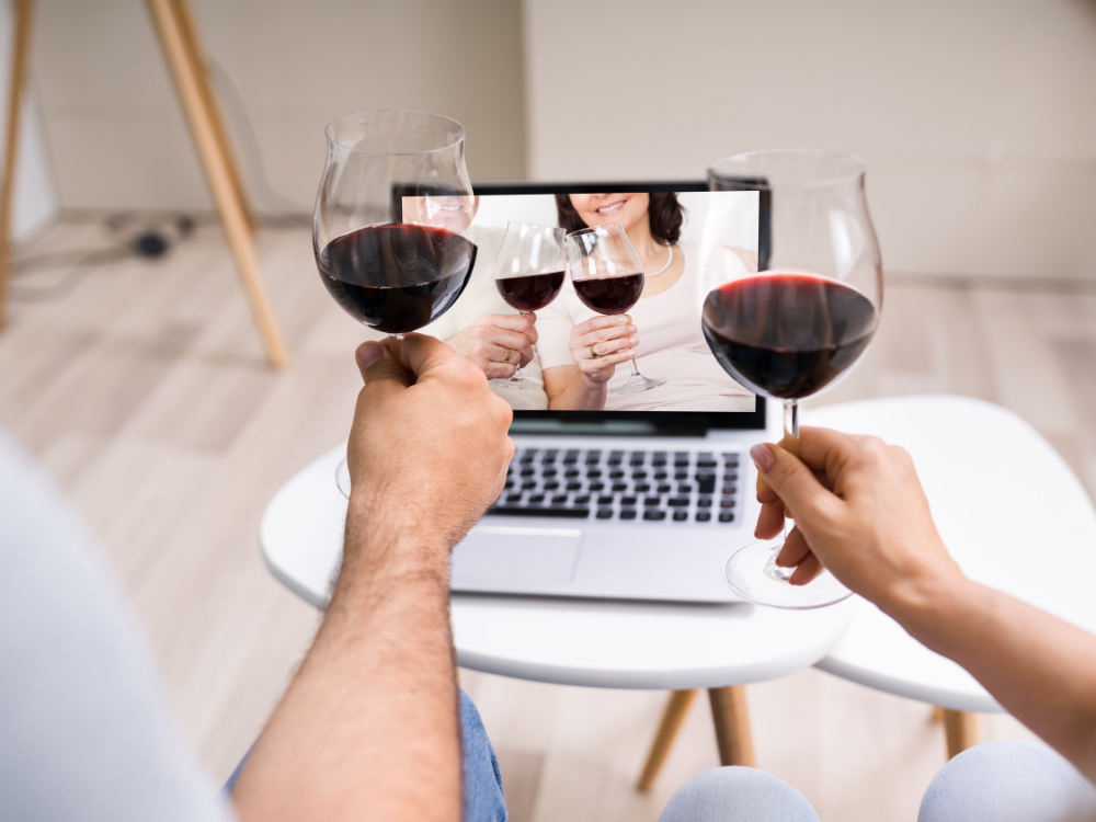 Have a virtual engagement party